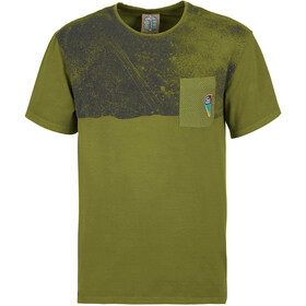 E9 Stripe-9 T-shirt Heren, pistachio